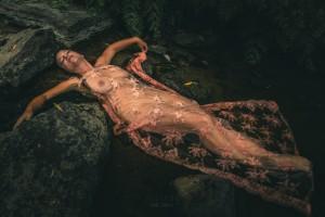 Mizu no hana 5 by Daniel Thibault artiste-photographe