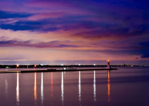 Burlington Lights by Darren LeBlanc