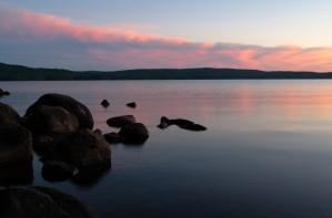 Cedar Lake at Sunset by Darren LeBlanc