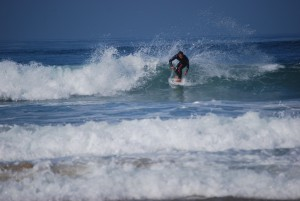 Dana Point surfer by Darryl Green