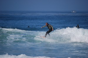 Dana Point surfers  by Darryl Green