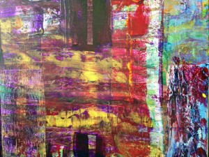 Transitions an original abstract painting by Darryl Green