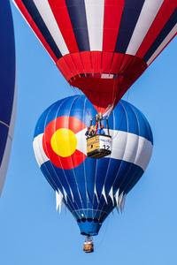 Balloon festival Snowmass village  by Dave Massender