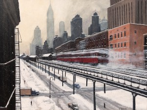 3rd Avenue El by Dave Rheaume