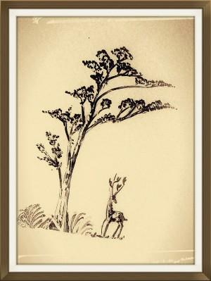 Deer by Dayalan Oviyan