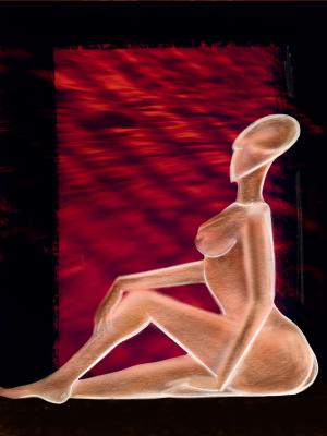 Relaxing female by Dayalan Oviyan