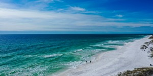 Jan Beach Day by Destin30A Drone