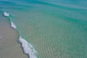 Clear Beach  by Destin30A Drone