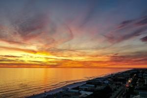 Seaside Sunset by Destin30A Drone