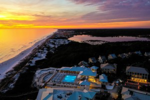 Watercolor Beach Club by Destin30A Drone