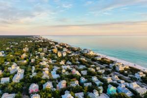 Seaside Homes by Destin30A Drone