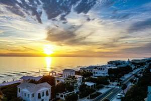 Seaside Beach Homes by Destin30A Drone