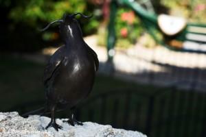 Dali moustache bird by Ed Bravo