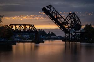 Salmon Bay Bridge by Enrico Pozzo