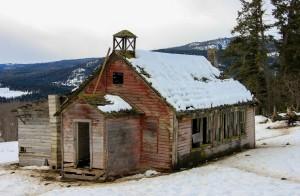 Original Chu Chua School by Forgotten British Columbia