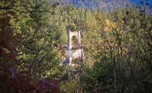 The Original Alexandra Bridge by Forgotten British Columbia