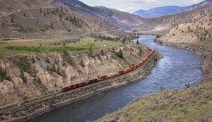 CP Rail near Spences Bridge, BC by Forgotten British Columbia