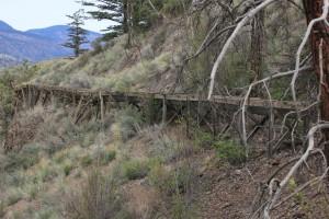 Deadman River Flumes by Forgotten British Columbia