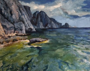 Capri grotto by Hal Sadler