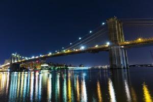 The Brooklyn Bridge by Hidden Grid