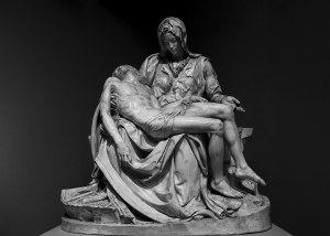Pieta by Michelangelo by Ira Silence
