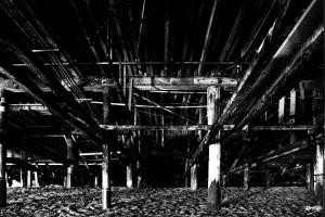 01_ SEA STRUCTURES_DOWN UNDER THE SANTA MONICA PIER I by Ivan Attila