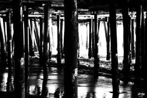 02_ SEA STRUCTURES_DOWN UNDER THE SANTA MONICA PIER II by Ivan Attila