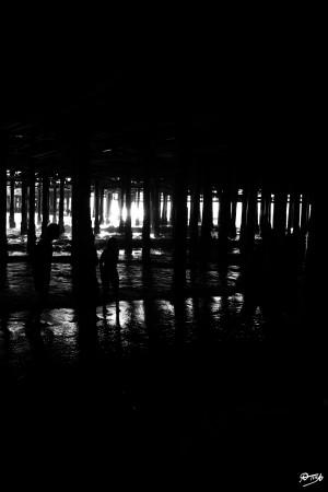 04_ SEA STRUCTURES_DOWN UNDER THE SANTA MONICA PIER IV by Ivan Attila