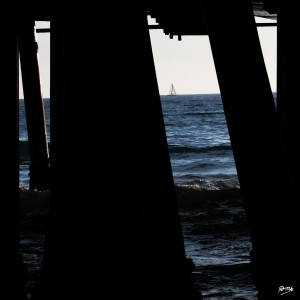 06_ SEA STRUCTURES_DOWN UNDER THE SANTA MONICA PIER VI by Ivan Attila