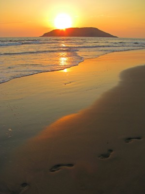 Footprints in the Sand by J  Jasmyn Phillips
