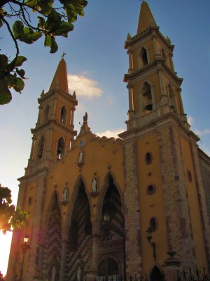 Catedral Basilica de Mazatlan by J  Jasmyn Phillips