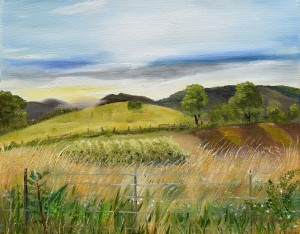 Pasture Love at Chateau Meichtry by Jan Kornegay Dappen