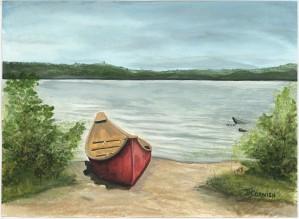 Beauty Lake by Janis Cornish