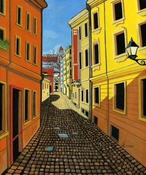 Colours of Europe by Janis Cornish