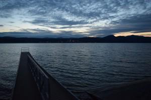 Dusky Dock on Champlain  by Jarrod Sammis
