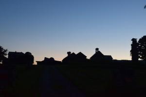 Adirondack Agricultural Decay at Dusk by Jarrod Sammis