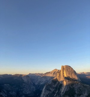 Half Dome at Half Light by Joe Karso