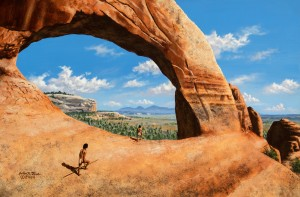 Discoverers of Wilson Arch by John Foster