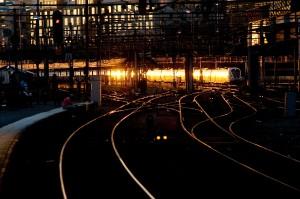 Golden train by Jonas Sundberg