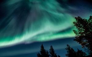 Green sky by Jonas Sundberg