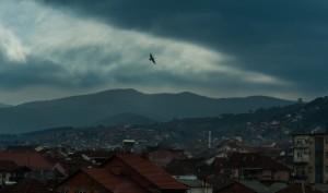 Macedonian blue cityscape by Jonas Sundberg