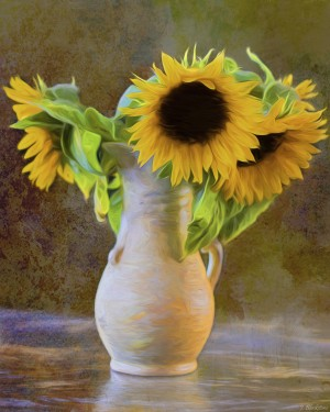 It's What Sunflowers Do - Flower Art by Jordan Blackstone by Jordan Blackstone