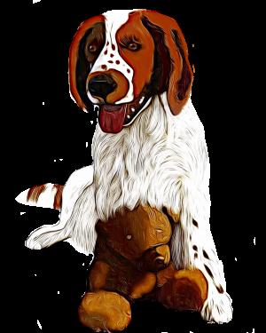 Puppy Love by KJHArt