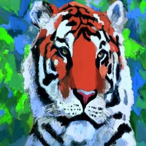 Tiger Art by KJHArt