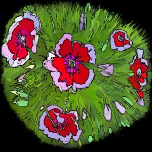 Floral Art by KJHArt