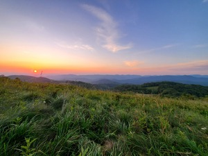 A Max Patch Sunrise by Kaitlyn Frady