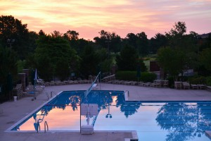 Sunrise At The Pool Photograph by Katherine Lindsey Photography