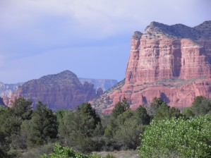 Sedona in August by Laura Jeanne Reck Gayner