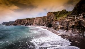 Cornish coast by Leighton Collins
