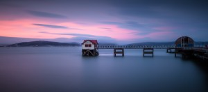 Mumbles pier and lifeboat station by Leighton Collins